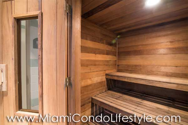St Louis Brickell Key Sauna