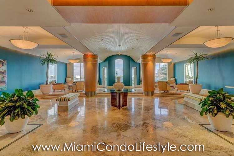 One Tequesta Point Lobby