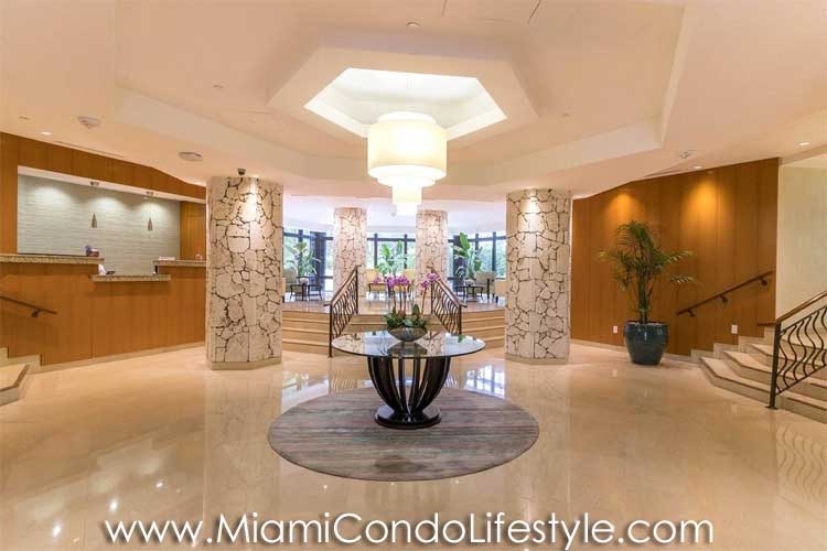Towers of Key Biscayne Lobby