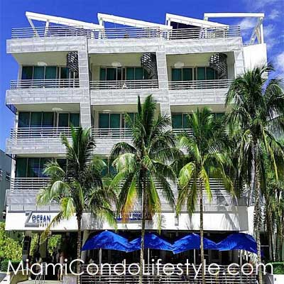 Z Ocean Hotel, 1437 Collins Avenue, Miami Beach, Florida, 33139