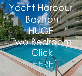 Yachy Harbour Bayfront - Huge Two Bedroom -